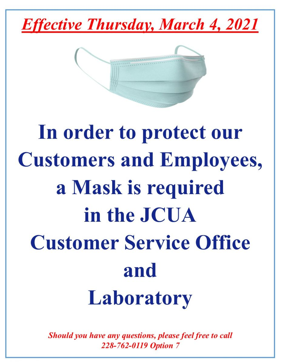03/04/21 New Mask Requirments